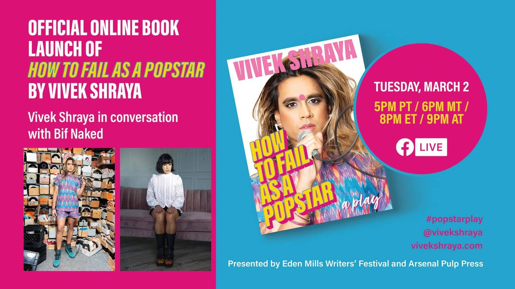Poster for How To Fail as a Popstar