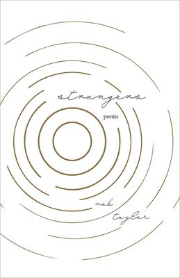Rob Taylor Strangers Cover. A white cover with beige concentric circles.